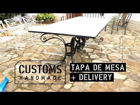 Tapa de mesa hierro y MASISA Metropolitan + Delivery | CUSTOMS handmade