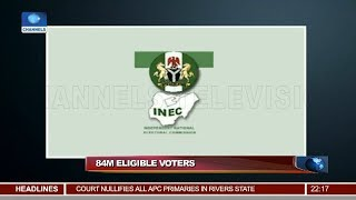 INEC Officially Presents Consolidated List To Political Parties 07/01/19 Pt.1 |News@10|