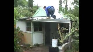 Guy Falls Through the Roof - Reason to Hire a Local Roofing Company