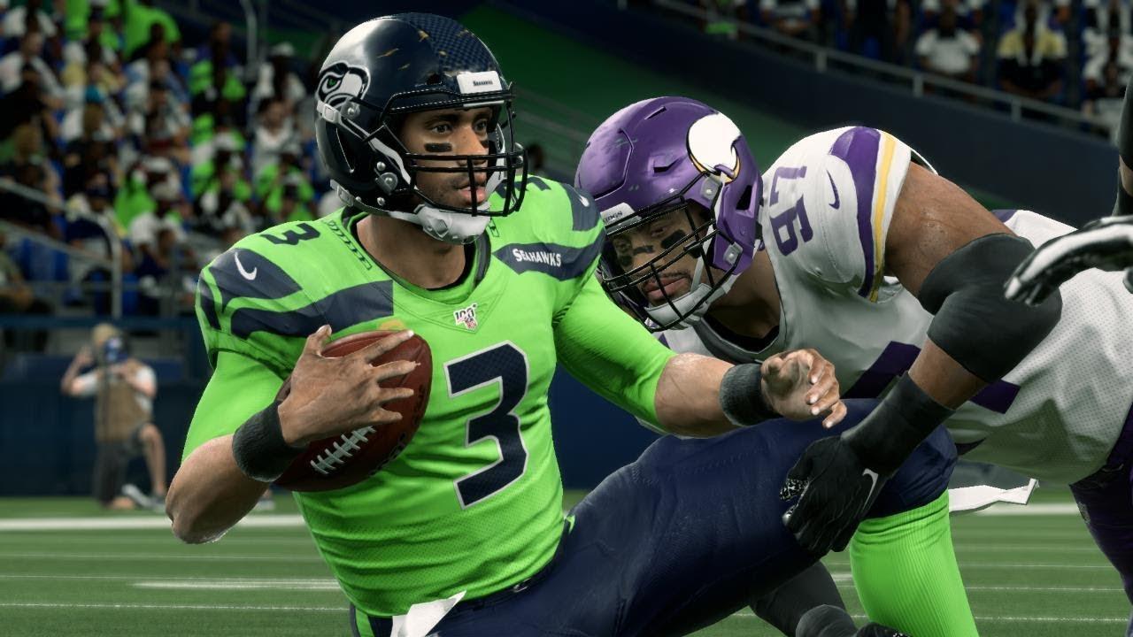 Nfl Today 12 2 Seattle Seahawks Vs Minnesota Vikings Full Game Nfl Week 13 Madden Youtube