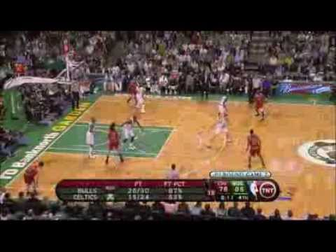 Ben Gordon 2009 Playoffs Game 7 vs. Celtics (33 points, Last game as a Bull)