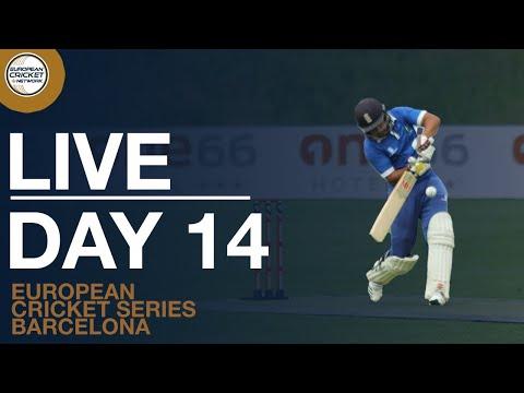 🔴 European Cricket Series Barcelona Day 14 | Cricket Live Stream