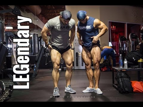 Olympia 2016 Vlog Ep 6 | LEGendary Team ON Workout with Julian Smith