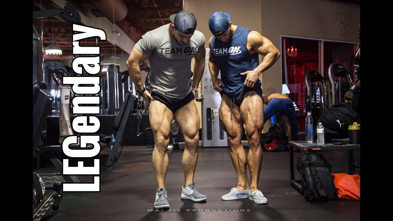 Olympia 2017 Vlog Ep 6 Legendary Team On Workout With Julian Smith You