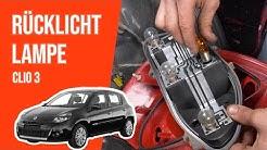 Wie Clio 3 Rücklicht Lampe wechseln 💡