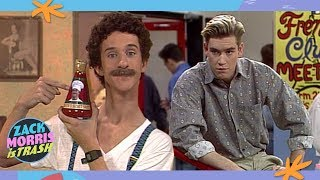 The Time Zack Morris Stole School Supplies To Sell Spaghetti Sauce