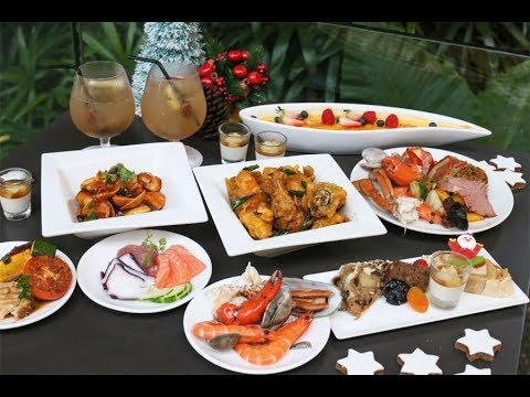 Flavours At Zhongshan Park - Modern Asian Festive Buffet With Creative Dishes.