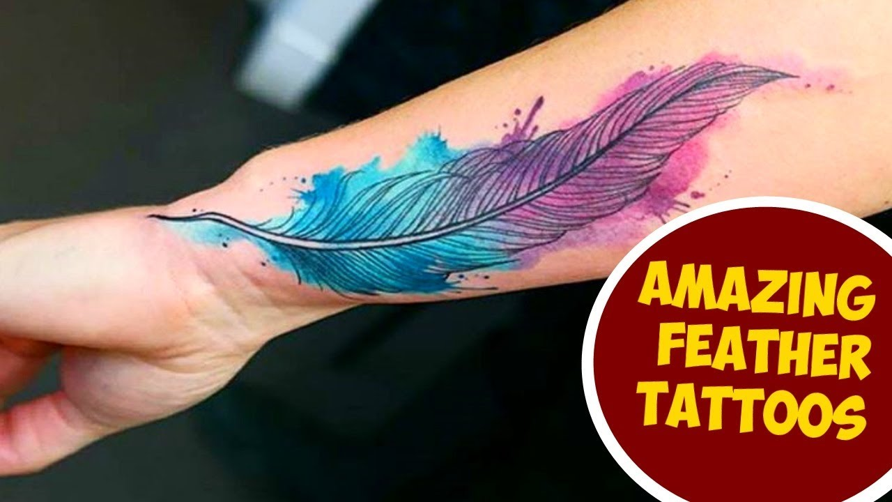 Amazing Feather Tattoos You Need To See Youtube