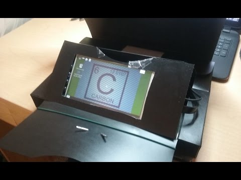 How to Build a Tablet with the Raspberry Pi -- Pure Carbon