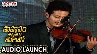 AR Rahman Songs Violin Performance at Saahasam Swaasaga Saagipo Audio Launch