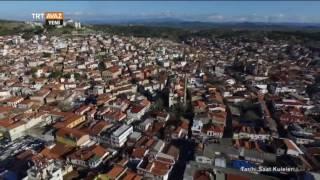 Ayvalık Saatli Camii'ye Kuş Bakışı - Tarihi Saat Kuleleri - TRT Avaz