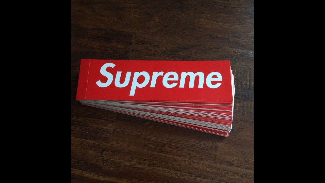 How To Spot A Fake Supreme Sticker
