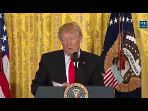 President Trump: CNN Is Very Fake News