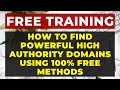 How to Find Expired Domains with High DA PA and TF CF for FREE with Traffic  amp  Backlinks  PART 1