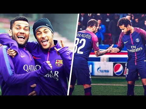 How did Neymar and Dani Alves become best friends? - Oh My Goal