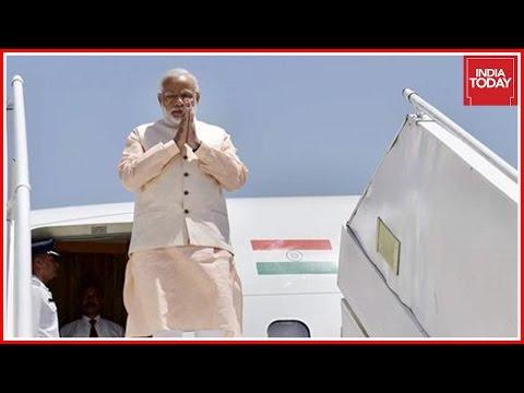 Narendra Modi Arrives In Switzerland