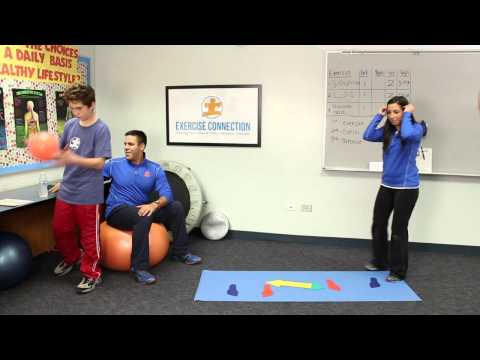 Children with Autism can use Exercise as a Sensory Break