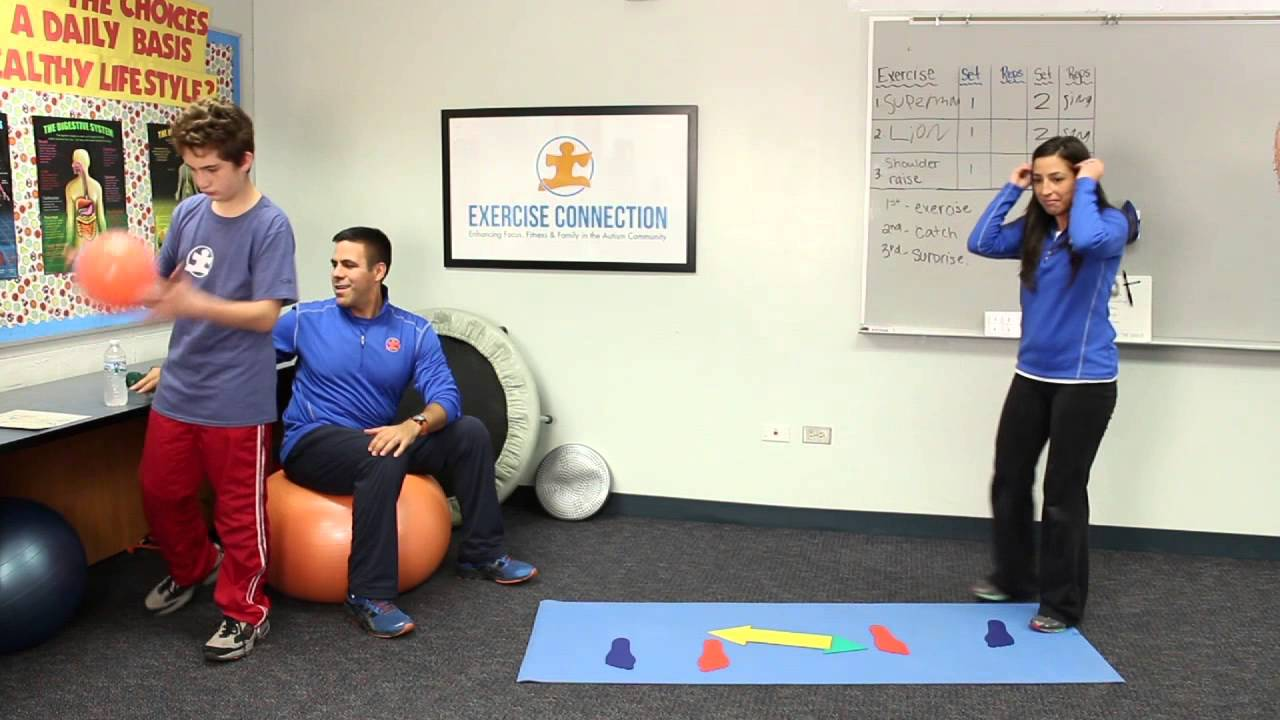 Exercise So Important For Your Autistic >> Children With Autism Can Use Exercise As A Sensory Break Youtube