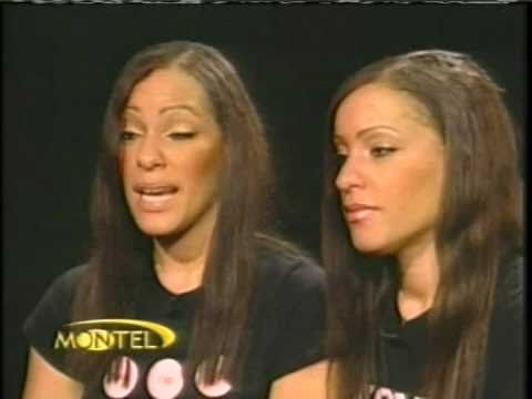 2007 Kelli and Vanessa Dunn on Montel Williams Show about Twins  DHM #76