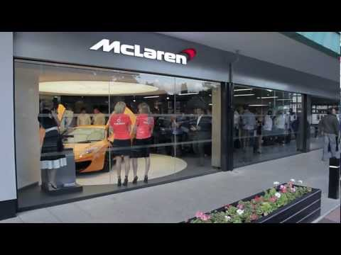 McLaren Showroom Launch - Knutsford, Cheshire, UK
