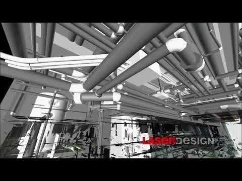 3D Scanning and CAD of a Boiler Room | Laser Design