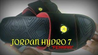 """JORDAN HYDRO 7 """"FERRARI"""" + ON FOOT REVIEW"""