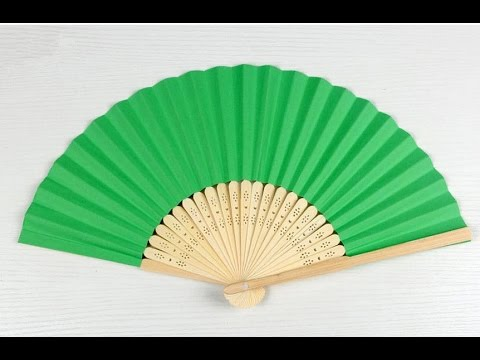 How To Make Origami Paper Fan