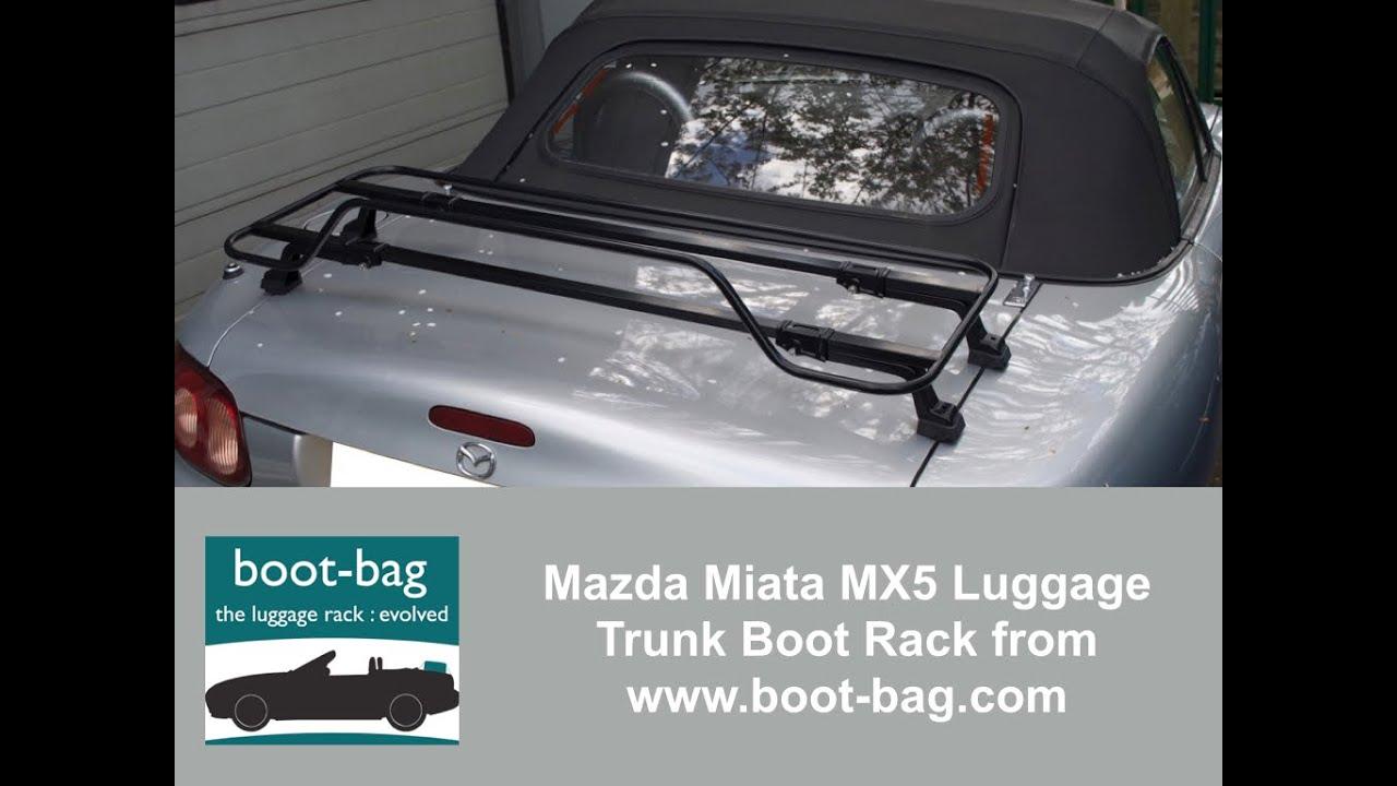 Luggage Rack Miata PRHT Boot//Trunk Mazda MX5 MK3 Roadster Coupe