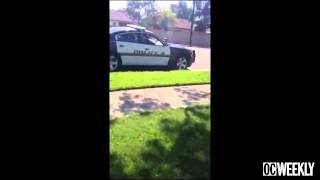 "Police Brutality: Santa Ana Cop Puts Crying Boy In Chokehold ""stop Speaking Spanish!"""