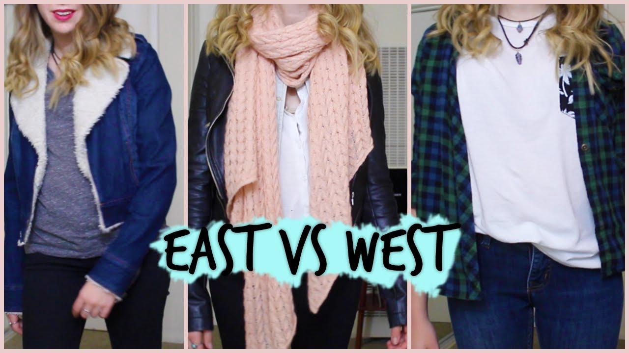 East coast dress style