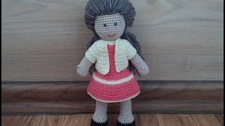 В'язане болеро для ляльки