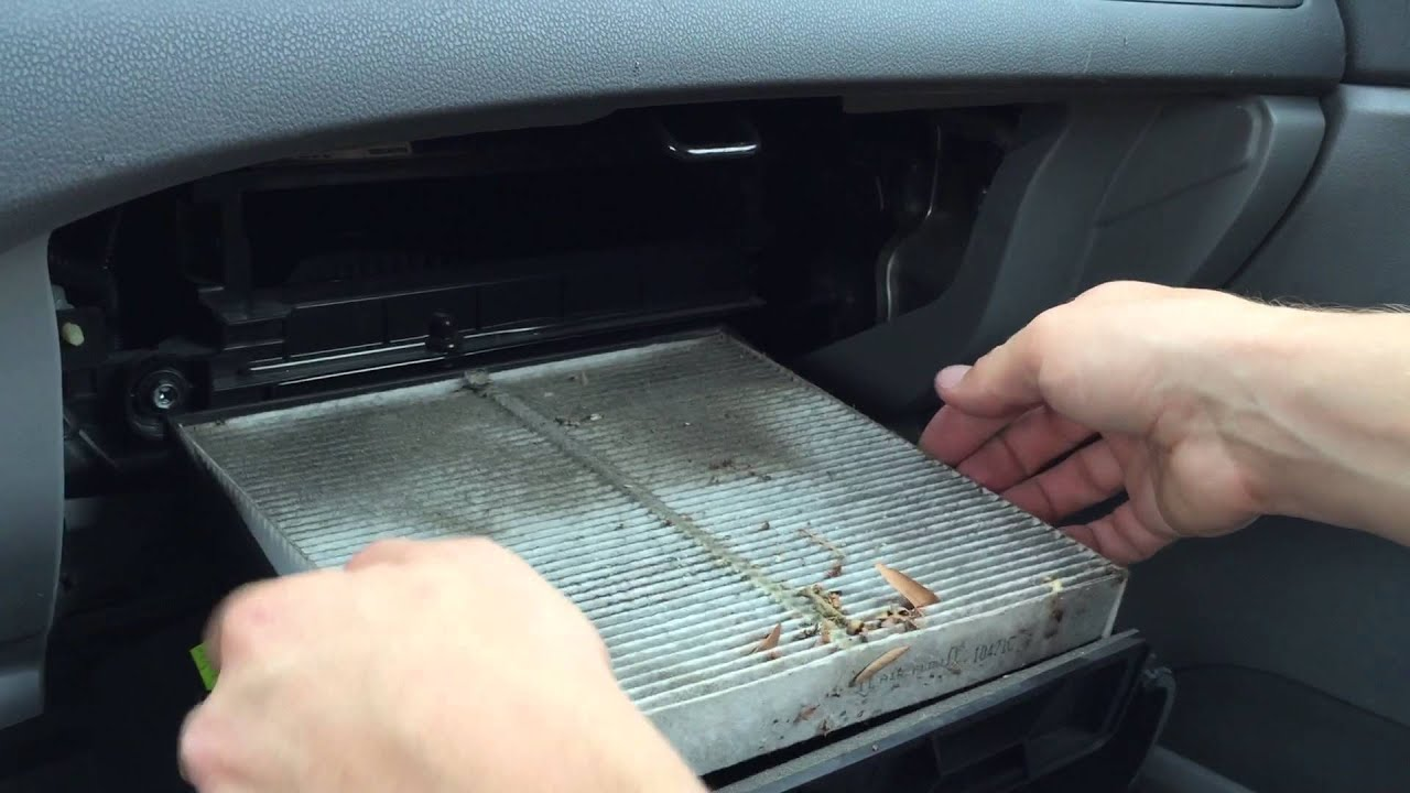 2006 - 2011 Honda Civic Cabin Air Filter Change - YouTube