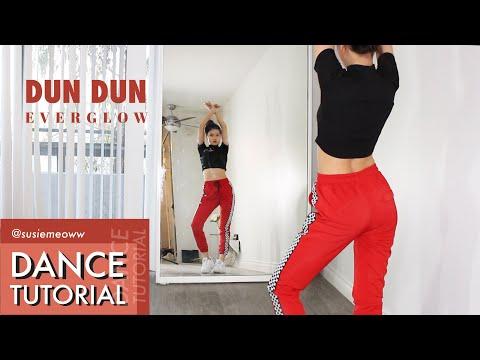 EVERGLOW - 'DUNDUN' (던던) Full Dance Tutorial (counting + point dance explain)