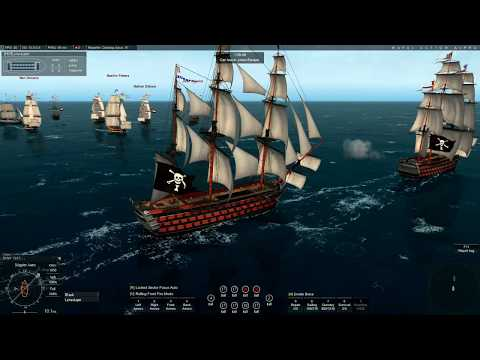 Naval Action, 1st rate fleet mission with two players