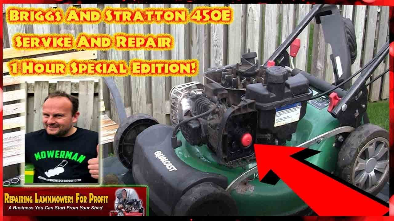 How To Clean And Service A Petrol Lawnmower Carburetor