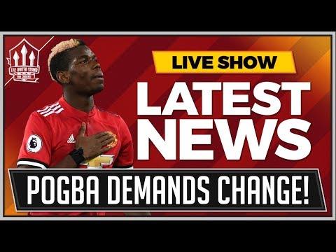 POGBA Demands MOURINHO Change! MAN UTD News