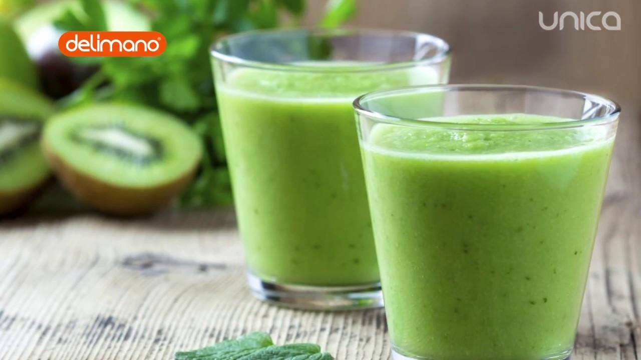 Rețeta unui smoothie verde perfect după sărbători