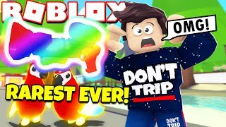 I Got the RAREST ITEM EVER in Adopt Me! NEW Jungle Update NEON PARROT (Roblox)
