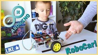 Машинка робот Arduino робототехника RoboCar Arduino robotics