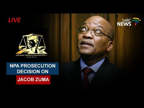NPA prosecution decision on Jacob Zuma