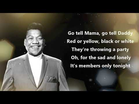 "Bobby ""Blue"" Bland - Members Only (Official Lyrics Video)"