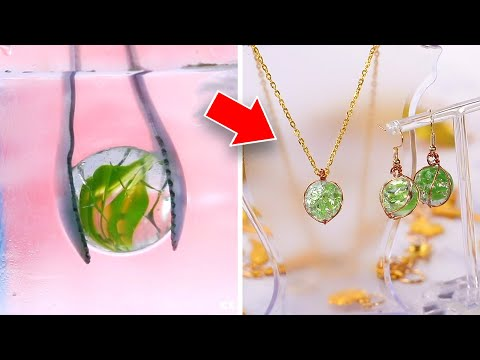 16 Stunning DIY Jewelry Crafts and Accessories