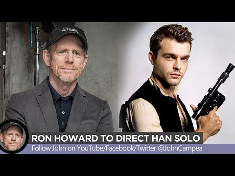 han solo movie now directed by ron howard youtube. Black Bedroom Furniture Sets. Home Design Ideas