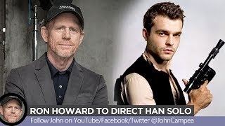 Han Solo Movie Now Directed By Ron Howard