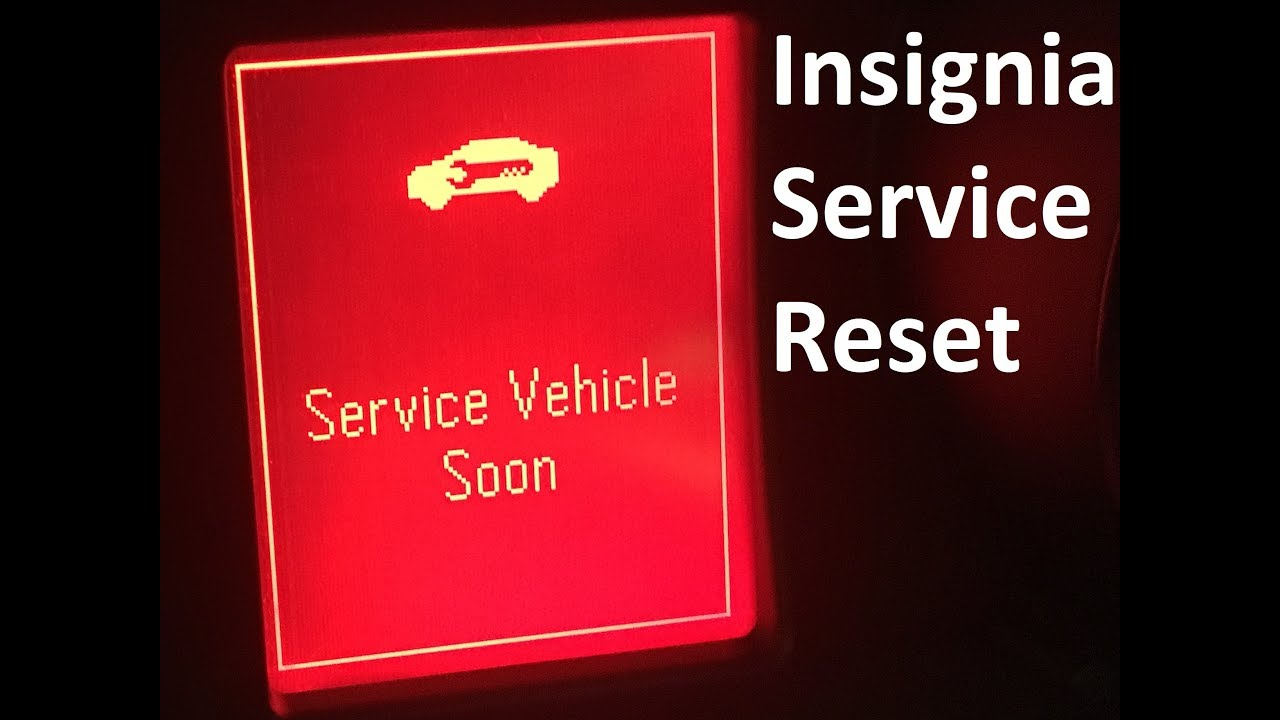 Insignia Service Light Reset Vauxhall Insignia 2012 And