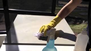 Video Tutorial - Como retirar a cera protetora dos porcelanatos.