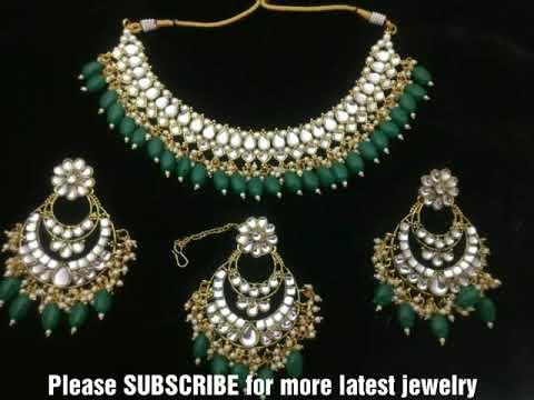 Latest Kundan jewellery, padmavat jewelry, latest Indian fashion jewelry collection 2018, wholesale
