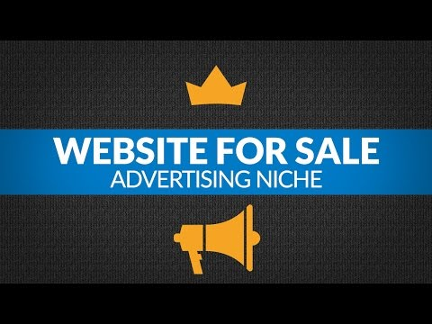 Website for Sale – $10K/Month in Advertising Niche, Ad Placement and Affiliate Monetized Business