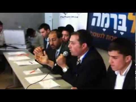 מתמודדי תוכנית הדובר באוניברסיטת חיפה - רדיו קול ברמה