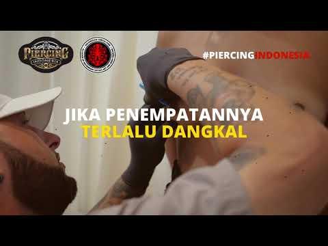 🔞 INI BUKAN VIDEO BOKEP |  Nipple Piercing - Tindik Puting (Edukasi)